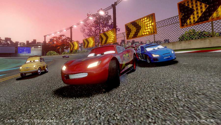 Cars 2: the video game will feature connectivity with the world of cars online - a free-to-play browser-based